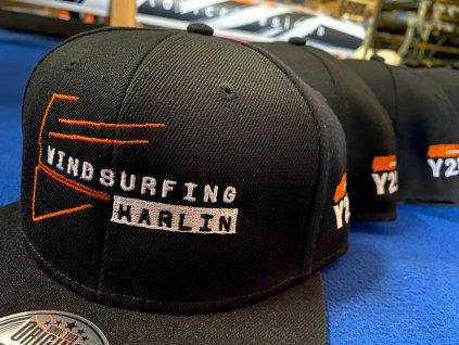 Snapback kšiltovka WindsurfingKarlín Team EDITION