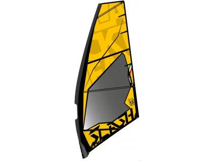 yellow slash zero 2021 windsurfing karlin freestyle plachta