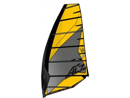 ac z yellow plachta point7 windsurfing karlin