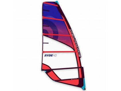 ryde hd obrazek neilpryde plachta red purple windsurfing karlin