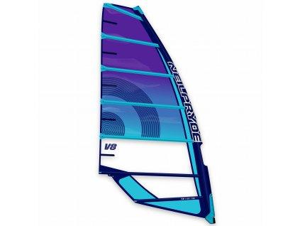 v8 plachta purple blue 2021 profil obrazek windsurfing karlin