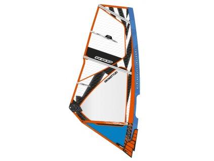 gromstyle mk5 blue windsurfing karlin plachty