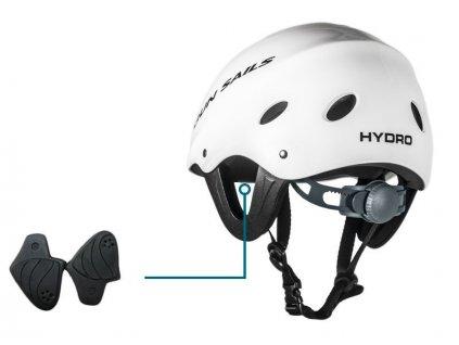 gun sails hydro helm white windsurfing karlin