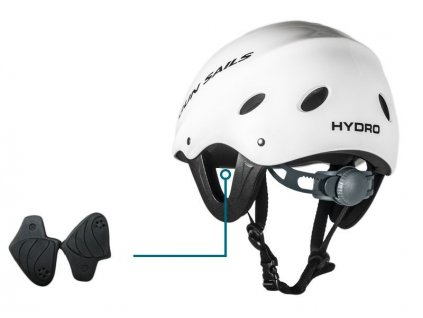 gun sails hydro helm white windsurfing karlin