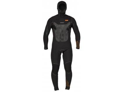 rrd wetsuit fahrenheit chest zip 6 4 hooded pansky neopren dlouhy nejteplejsi na trhu windsurfing karlin dlouhy