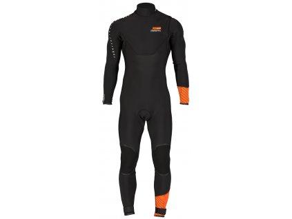 rrd wetsuit 2017 celsius pro zipless 4 3 3 2 dlouhy neopren na windsurfing karlin