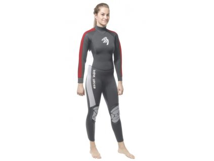 wave ascan neopren damsky 5 4 windsurfing karlin dlouhy wetsuits