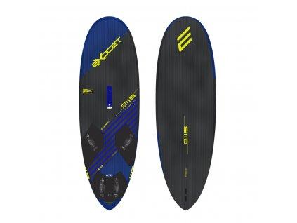 sline 115 125 140 litraz slalomove prkno exocet sline widnsurfing karlin