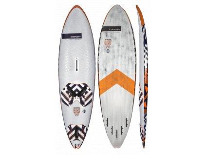 hardcore wave V6 88 rrd windsurfing karlin
