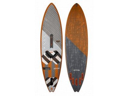 rrd hardcore wave V7 70 litru windsurfing karlin