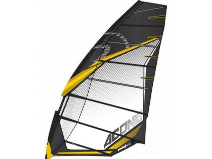 ac one plachta 4 cambrova zavodni i na foil windsurfing karlin