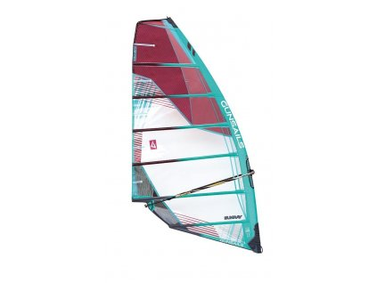 gunsails sunray 2 cambrova plachta freerace windsurfing karlin
