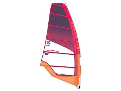 V8 plachta neilpryde Red windsurfing karlin