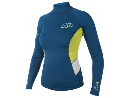 neoprenove damske triko s dlouhym rukavem na windsurfing neilpryde