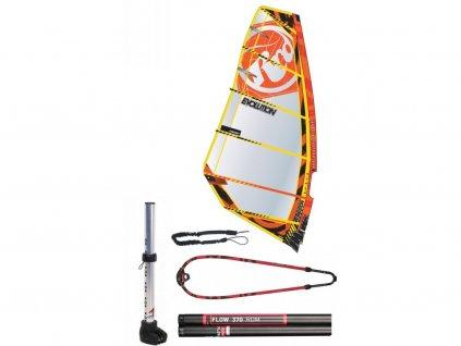 komplet pro zacatecnika windsurfing