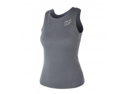 thermabase ladies vest tbd874 graphite přední