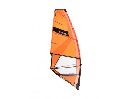 plachta style pro freestyle y25 orange windsurfing karlin