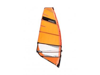 plachta freerace rychla y25 fire rrd windsurfing karlin orange