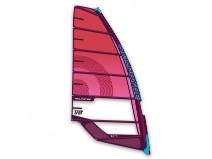 v8 pink plachta kembrova windsurfing karlin neilprye