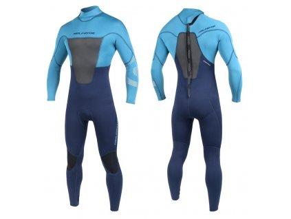 neopren pansky dlouhy na windsurfing teply neilpryde rise windsurfing karlin navy blue