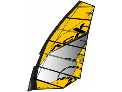 acx yellow plachta windsurfing karlin freerace no camb point7 zero2020