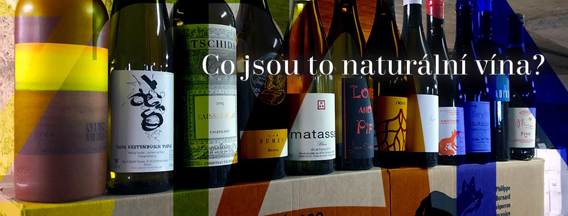 Co jsou naturální vína?