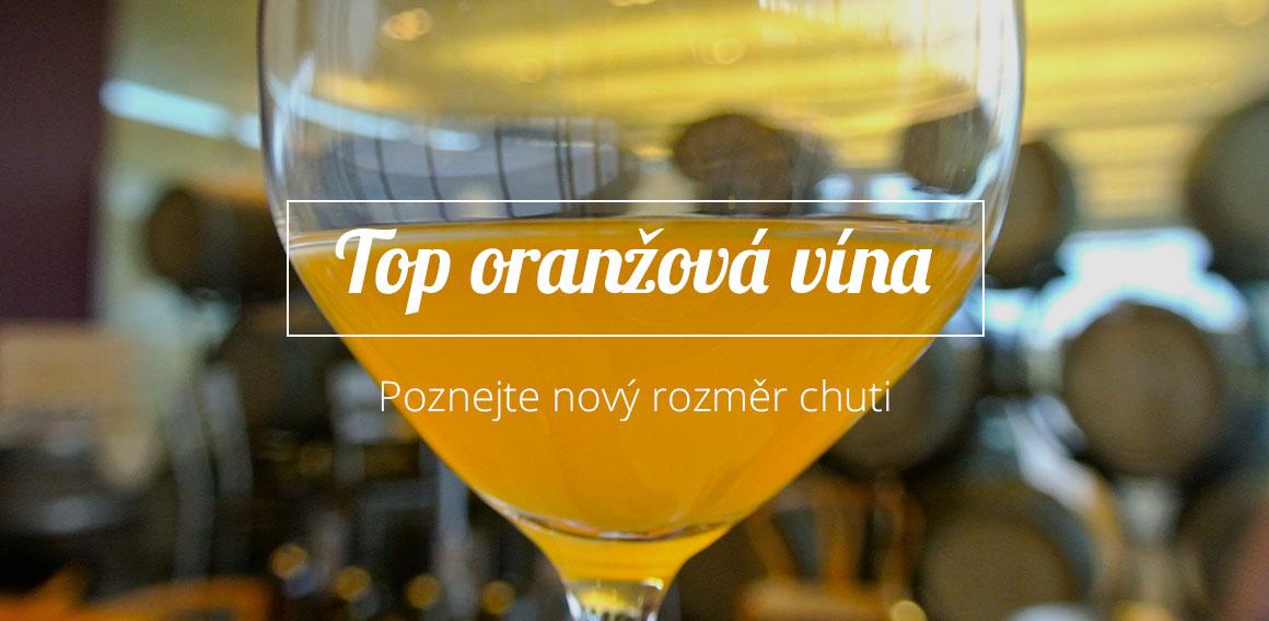 Oranžová vína