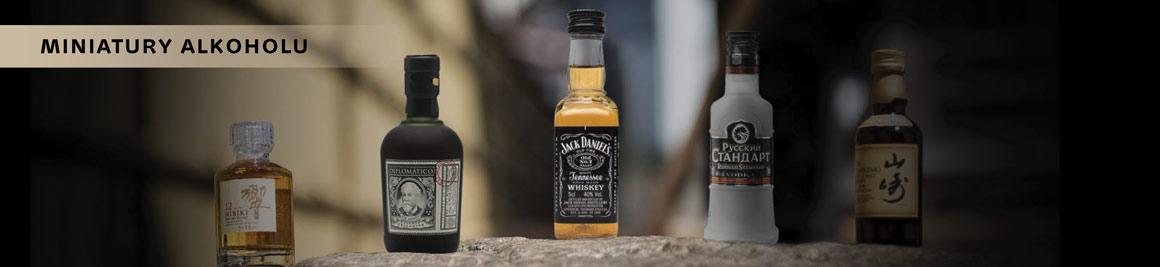 Miniatury alkoholu