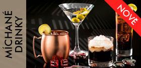 Míchané drinky a koktejly