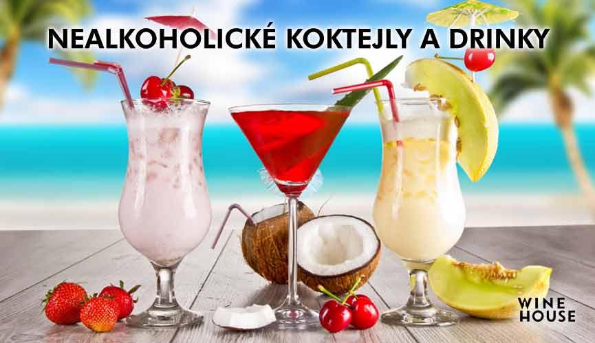 Nealkoholické koktejly a drinky