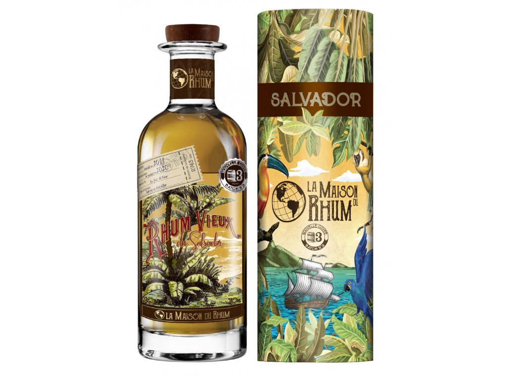 La Maison Du Rhum Salvador 2011, Batch No.3, 40%, 0,7l