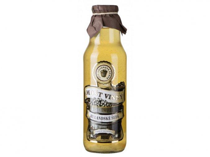 Vinný mošt Rulandské šedé, Slovácká moštárna, 0,75l
