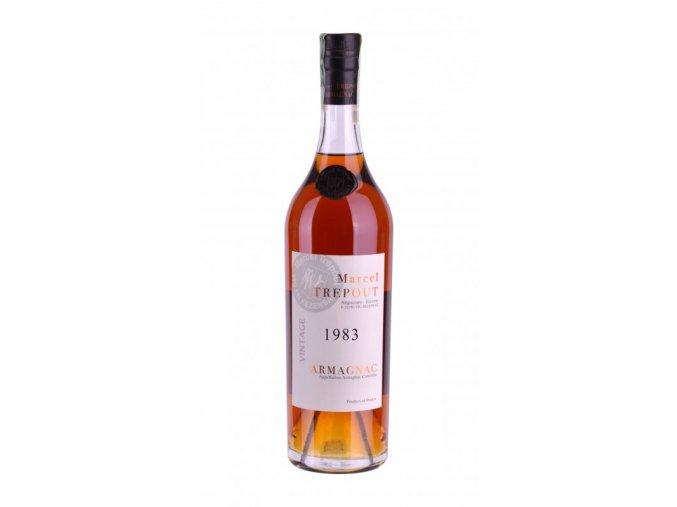 Armagnac Marcel Trépout, Vintage 1983, 42%, 0,7l