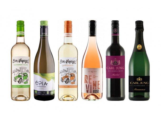 Degustační balíček nealkoholických vín, 6x0,75l