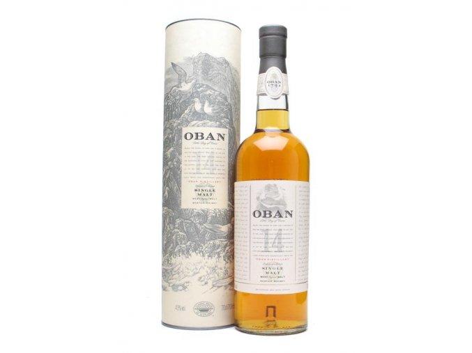 Oban 14 YO, 43%, 0,7l