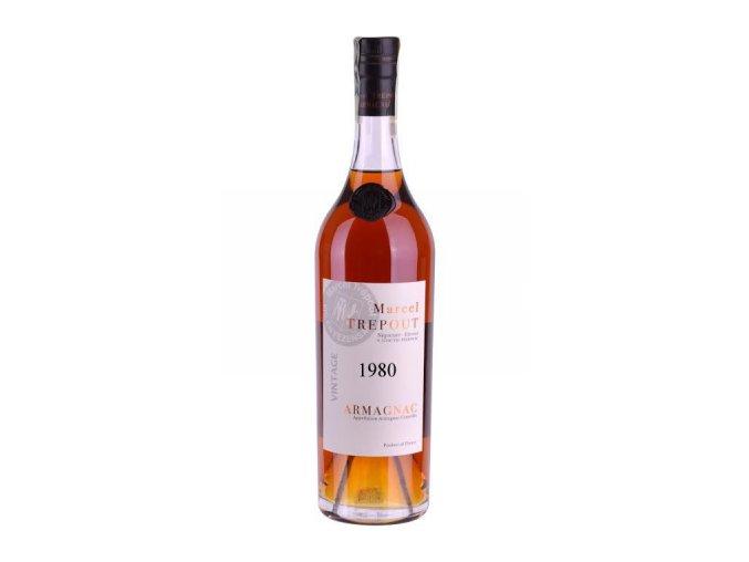 Armagnac Marcel Trépout, Vintage 1980, 42%, 0,7l