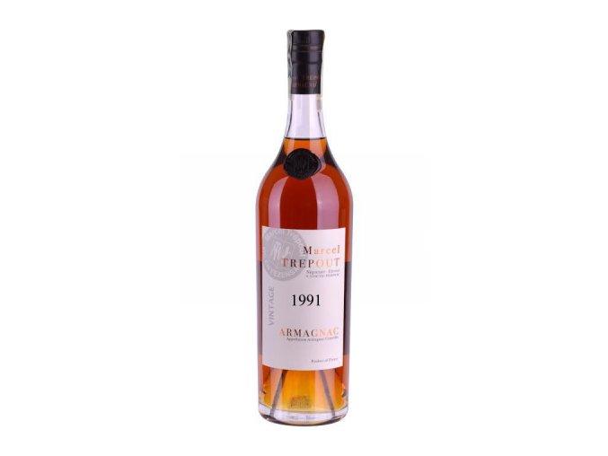Armagnac Marcel Trépout, Vintage 1991, 42%, 0,7l