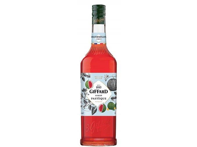 Giffard Watermelon, melounový sirup, 1l