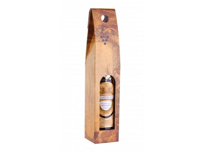 Papírová krabice na 1 láhev vinařství Krist