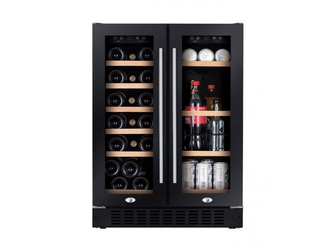 Chladnička na víno Humibox Duo BU38 Dark In