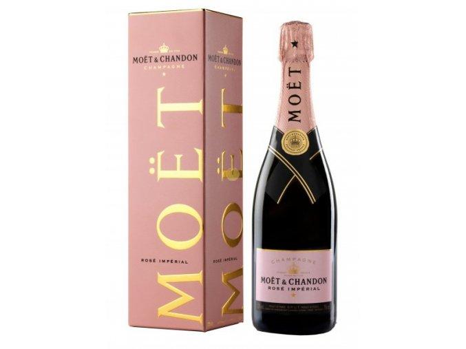 Moët & Chandon Imperial Brut Rosé + Box, 0,75l