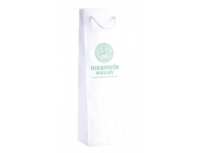 Dárková taška na 1 láhev vinařství Mikrosvín