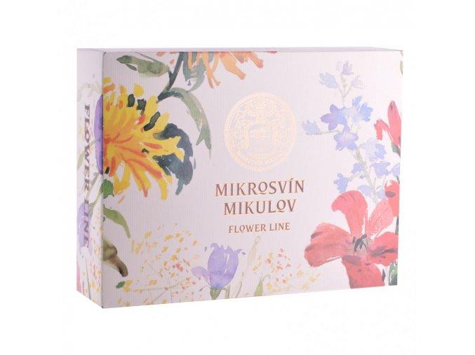 Papírová krabička s potiskem na 3 láhve vinařství Mikrosvín