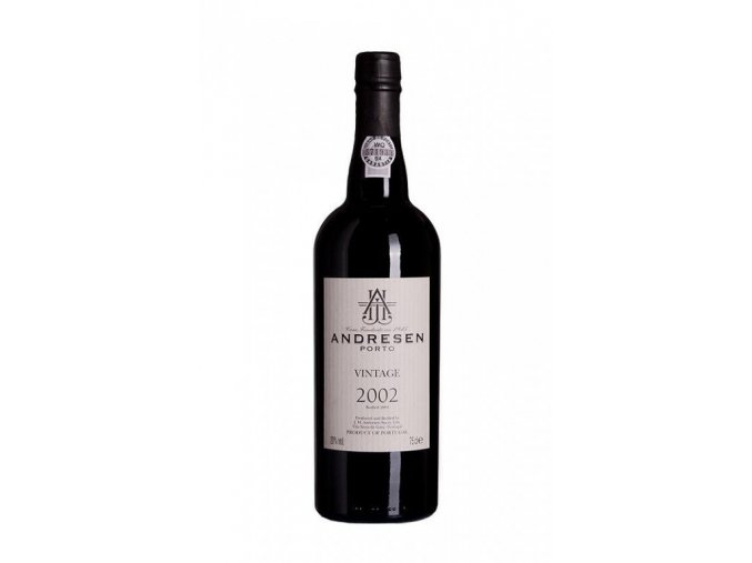 J.H. Andresen Vintage 2002 Port, 0,75l