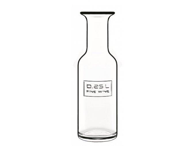 Karafa na víno Optima, Luigi Bormioli, 0,25l