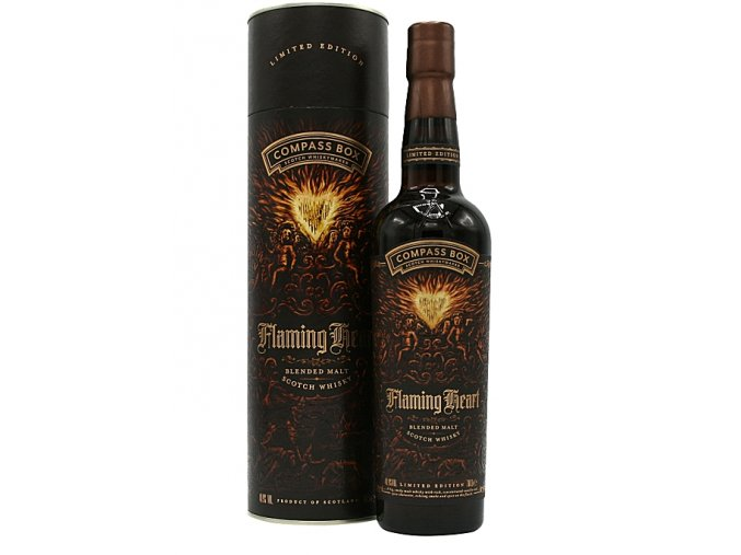 Compass Box Flaming Heart 6th Edition, 0,7l