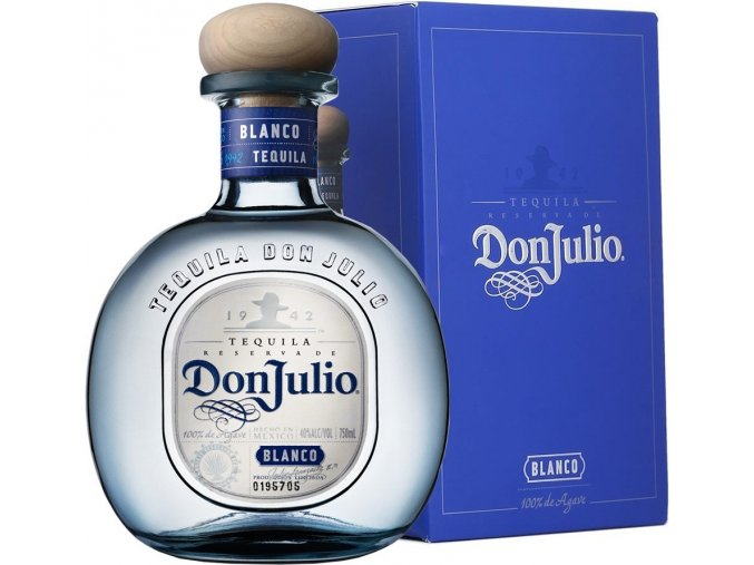 Don Julio Blanco, Gift Box, 38%, 0,7l
