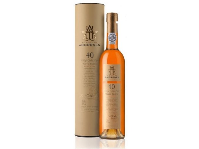 J.H. Andresen 40 Year Old White