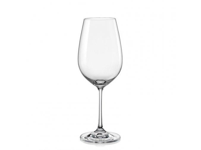 Sklenice na víno Viola, Crystalex, 450ml, 6ks