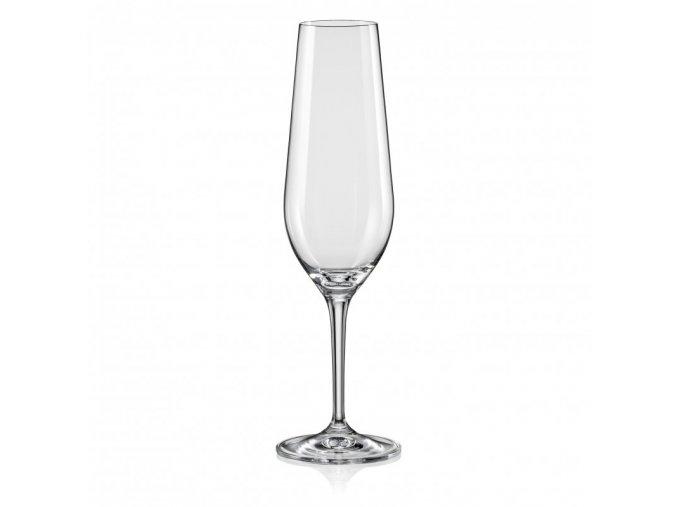 Sklenice na šumivé víno Amoroso, Crystalex, 200ml, 2ks